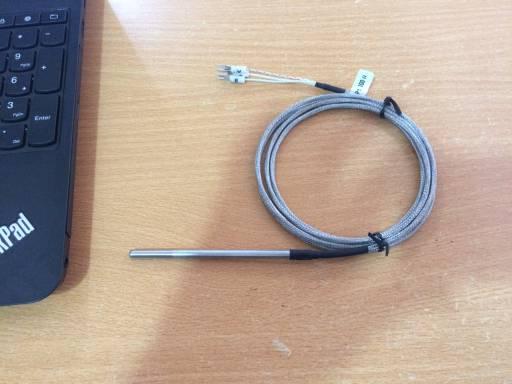 Cảm biến nhiệt độ PT100, dạng dây (100mm)