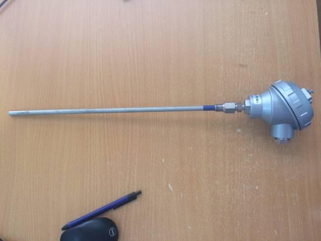 Cảm biến nhiệt độ PT100, 3 dây, 400mm