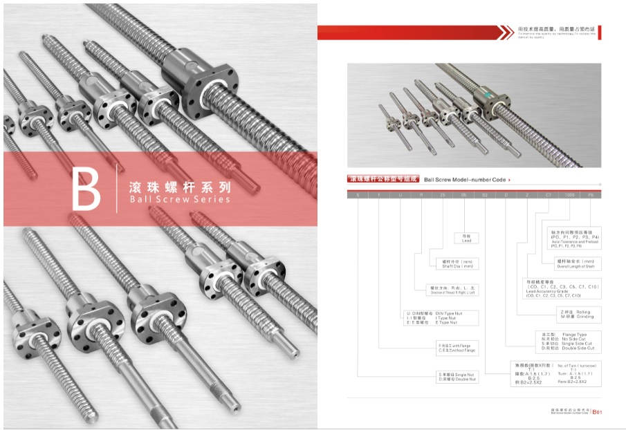 CHTR Ball screw series